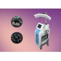 Buy cheap 7 in 1 Facial Resurfacing Dermabrasion / PDT Diamond Skin Ultrasonic Scrubber Machine from wholesalers