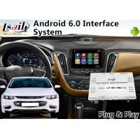 Buy cheap Android 6.0 Auto Interface for Chevrolet Malibu / Equinox My Link System 2015-2018 Waze Mirror link , GPS Navigation from wholesalers
