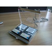 Buy cheap Winston Cigarette Acrylic Storage Boxes With Chain , 12 * 10cm product