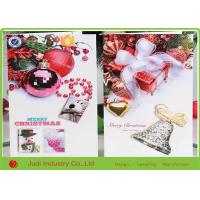 Buy cheap 10 X 16 Cm Size Personalized Holiday Cards , Musical Christmas Greeting Card from wholesalers