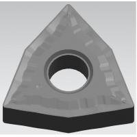 Buy cheap High Impact Toughness Cermet Turning Inserts Gold & Grey Color 40HRC from wholesalers