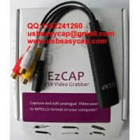 Buy cheap Mac Ezcap USB Easycap Video Capture Card Really for Mac Vista Win7 XP Windows China Factory 2861 solutions DC60+ + from wholesalers