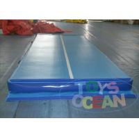 Buy cheap 30CM Gymnastics Inflatable Tumble Track For Adult / Grey Air Track Tumbling from wholesalers