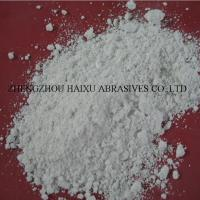Buy cheap White Fused aluminum oxide powder for polishing/buffing pads from wholesalers