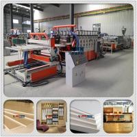 Buy cheap PVC Semi-crusted Foamed Board Extrusion Equipment/Machinery/Production line product