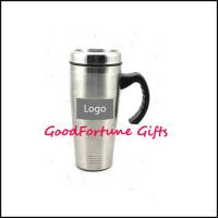 Buy cheap Promotion gift travel car Stainless Steel Vacuum Cups bottle from wholesalers