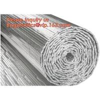 China Roof/Floor/Wall Heat Insulation Aluminum Foil Bubble Material / Thermal Insulation,Bubble Aluminum Foil Building Insulat on sale