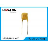 Buy cheap Yellow color Electronic Components PPTC Thermistor Resistor Radial Leaded from wholesalers