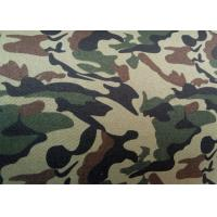 Breathable Military Heavy Twill Cotton Fabric ECO Friendly Material