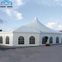 Buy cheap Mixed Custom Party Tents Waterproof PVC Roof for Trade Show Events from wholesalers