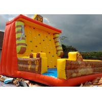 China Egyptian pyramids Cleopatra Mummy Themed Inflated Fun Games / Inflatable Climbing Wall on sale