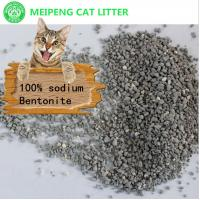 Buy cheap irregular shaped 100% sodium bentonite clay cat litter kitty sand from wholesalers