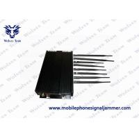 Buy cheap PC Controlled Cell Phone Reception Blocker , Cellular Signal Jammer 8 Antennas from wholesalers