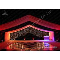 Buy cheap Luxury Marquees For Weddings Decorated with Noble and Gorgeous Linings and Lightings from wholesalers