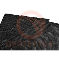 Buy cheap 70 - 100kn / M Reinforcing Ground Stabilization Fabric Heat Resistant Slit Tape product