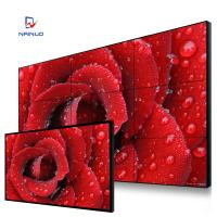 China 1920x1080 2K Lcd Video Wall Display Mounted Cabinet Free Stand With Camera on sale