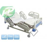 Buy cheap 3 motors 500lbs weight capacity steel hospital ICU bed patient nursing bed from wholesalers