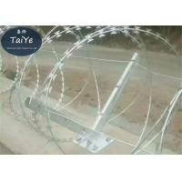 Buy cheap 6 Holes Barbed Wire Fence Post 50-60cm Height High Rust Resistance from wholesalers