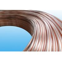 Buy cheap 0.55mm Low Carbon Copper Coated Bundy Tube For Freezer , Bundy Tubing Company from wholesalers