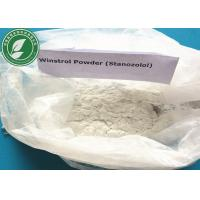 Buy cheap 99% Steroid Raw Powder Stanozolol Winstrol For Fat Loss CAS 10148-03-8 from wholesalers