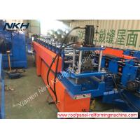 Buy cheap Top Hat Purlin Roof Truss Forming Machine With Embossing / Stiffener from wholesalers