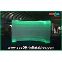 Buy cheap 12 Led Air Light Inflatable Wall Digital Printing Remote Control 3x1.5x2 m from wholesalers