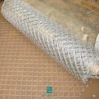 Buy cheap Galvanized Chain Link Fence Rolls , Home Depot Wire Roll 18-208-15 100m from wholesalers