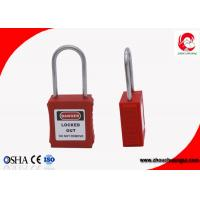 Buy cheap Safety Loto Padlock with Stainless Steel Shackle PA Nylon Lock Body , Keyed Alike Zenex from wholesalers