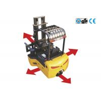Buy cheap 1600kg electric forklift truck for long material , 4-directional narrow aisle forklift product