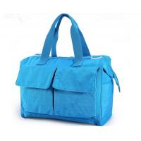 Buy cheap Blue Recycle Pretty designer Baby Diaper Bags , Baby Nappy Changing Bag from wholesalers
