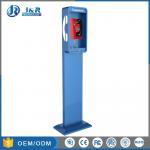 Buy cheap Vandal Resistant Highway Emergency Phone Pillar , Roadside Phone Protection Pillar from wholesalers