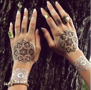Buy cheap Temporary Inspired Flash Henna Tattoo Sticker product