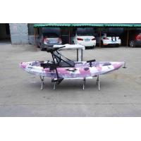 Kids Electric Motor Recreational Fishing Kayak  275L*78W*40H Customized Color