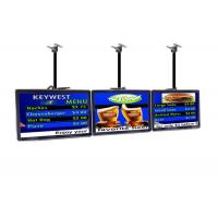 Buy cheap Indoor Commercial LCD Display Restaurant Digital Menu Boards Advertising Player from wholesalers