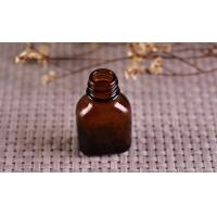 Buy cheap Color Coating Amber Glass Cosmetics Essential Oil Bottle With Dropper from wholesalers