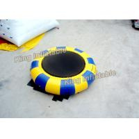 Buy cheap 5m Diameter Inflatable Water Trampoline  Water Parks For Christmas Party from wholesalers