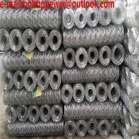 Buy cheap white poultry netting/hex wire mesh/hex wire fence/chicken wire sqauare hole/chicken wire mesh size/what is chicken wire from wholesalers