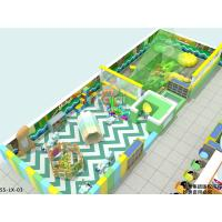 Buy cheap Forest Theme Indoor Residential Playground With Interactive Games And Sand Ball from wholesalers