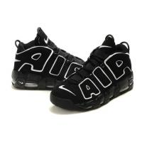 Buy cheap Nike Air Pippen Basketball Shoes 20 Anniversary Black Color Big Air Letter Upper Free Shipping With Box from wholesalers
