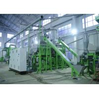 Buy cheap Rubber Tire Grinding Waste Tyre Recycling Equipment With D2 Tire Shredder Blades from wholesalers