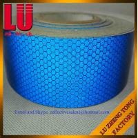 Buy cheap High Grade Intensity Honeycomb Glass Bead PET Reflective Tape from Wholesalers