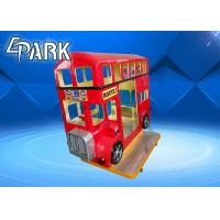 Buy cheap London Bus 3 seats popular mp3 music Kids Coin operated amusement park swing machine kiddie ride from wholesalers