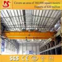 Buy cheap Double Girder 10-100 ton remote control electric double trolley crane from wholesalers