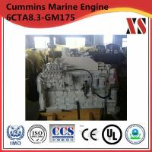 Buy cheap Cummins Engine !!! Cummins 6CT Marine Diesel Engine 6CTA8.9-GM175 product