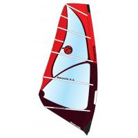 Buy cheap Smooth 6.5 X-ply Freeride Wind Surf Sail 5-Batten Durable Dacron Intermediate Play Sail from wholesalers