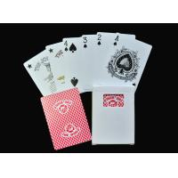 Buy cheap Family Entertainment Game Poker Playing Cards , Plastic or Paper Poker Card Deck from wholesalers
