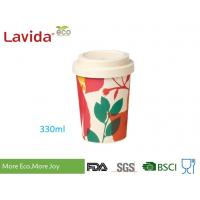 Buy cheap Eco Bamboo To Go Cup Takeaway Hot Beverage Container Non Toxic With Anti - Leaking Lid from wholesalers