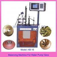 Buy cheap Balancing Machine For Gear Hob & Carbide End Mill from wholesalers