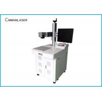 Buy cheap Desktop 20w Metal Optical Fiber Color Laser Marking Machine With Rotary Devices from wholesalers