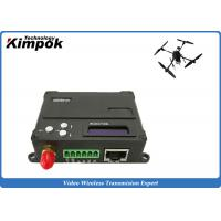 Buy cheap 10km COFDM Video Data Link Encryted Wireless Digital Transceiver for UAV / Drone / Quadcopter from wholesalers